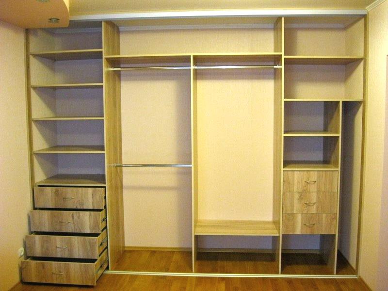 встроенные шкафы купе в спальню фото внутри нет готового