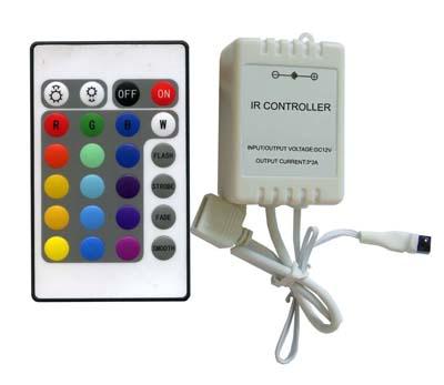Пример контроллера с пультом для светодиодной ленты