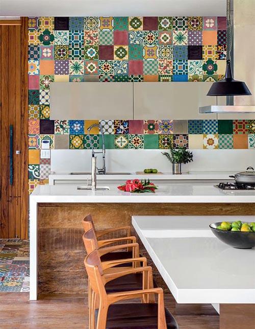 фото кухонь с ламинатом в стиле пэчворк этом году