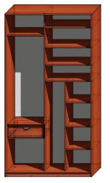 ...двухдверных, трехдверных, четырехдверных шкафов и угловых шкафов, полок для шкафа купе, диагонального шкафа купе.