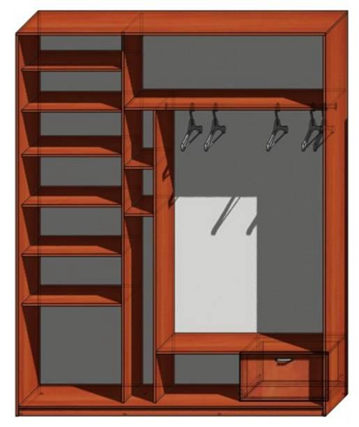 Фото готовых решений по изготовлению шкафов купе..