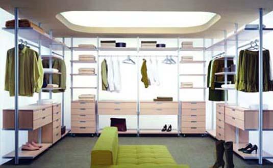 Сборка гардеробной