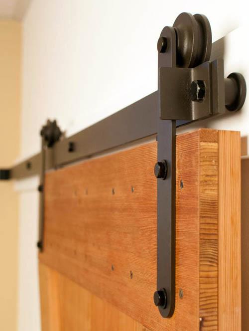 Механизм для амбарной двери своими руками