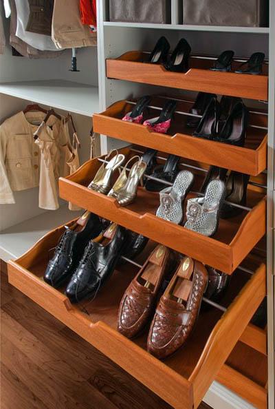 Идеи хранение вещей в шкафу купе и гардеробной