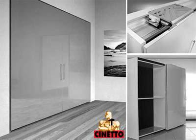 Компланарная система дверей Cinetto.