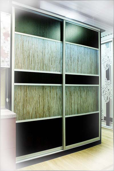 Применение акриловых панелей, ротанга, бамбука, в дизайне дв.