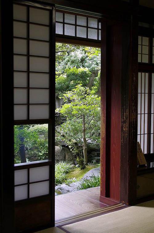 Японские двери раздвижные