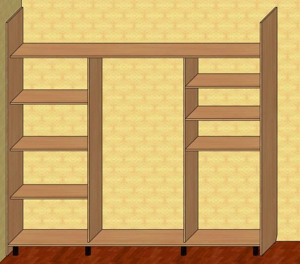 Шкаф купе для самостоятельной сборки