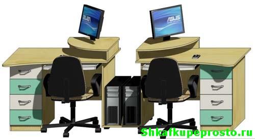 Фото компьютерный стол.