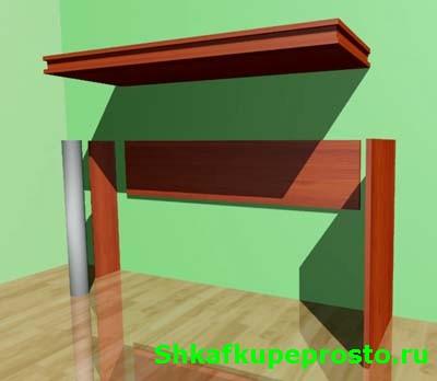 Конструкция компьютерного стола.