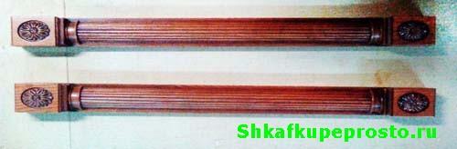 Пилястра из массива древесины известного итальянского производителя.