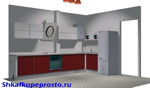 Проект кухни для изготовления своими руками.