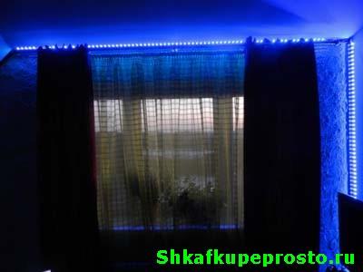 Как сделать подсветку из светодиодной ленты на шкаф купе