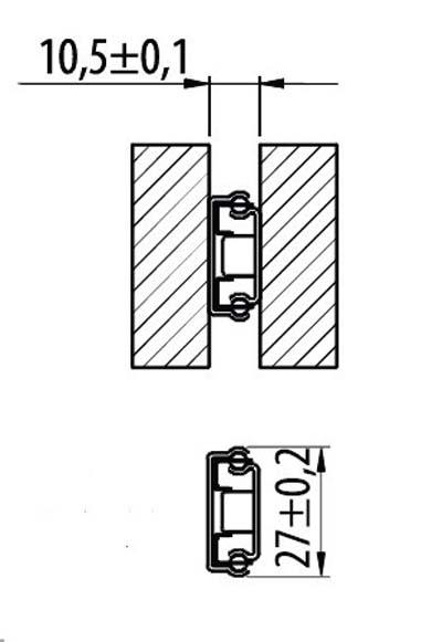 Размеры и особенности шариковых направляющих для выдвижных ящиков