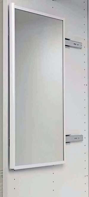 Выдвижное зеркало в шкаф купе.