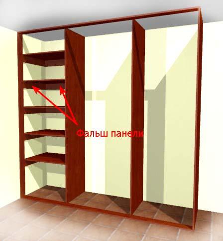 Двери для шкафа купе сделать своими руками