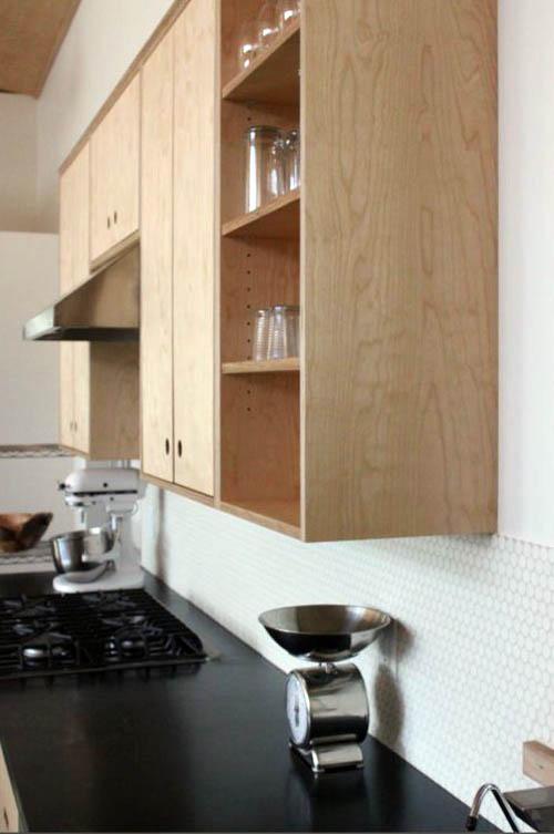 кухни из фанеры фото