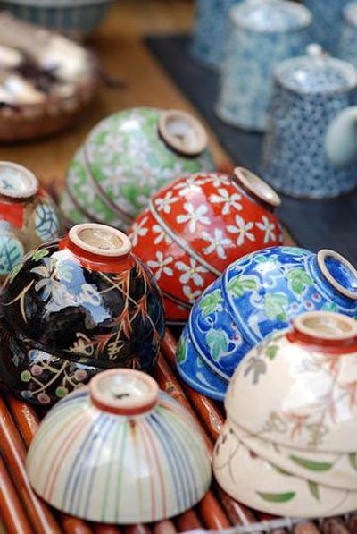 Магазин керамики, Киото, Япония.