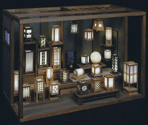 Японские фонарики
