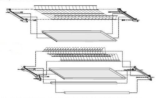 Схема сборки сушки Rejs.
