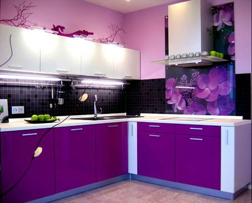 Сочетания цветов для маленькой кухни