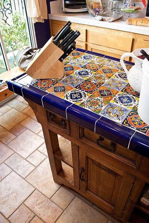 Плитка на кухонный стол своими руками 64