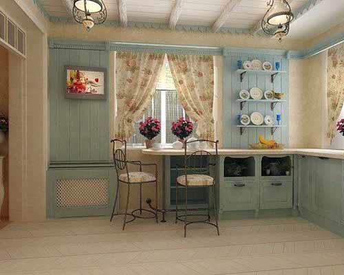 Стиль прованс на кухне своими руками